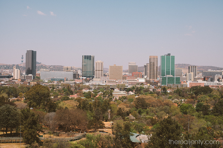 View of Pretoria from the Zoo